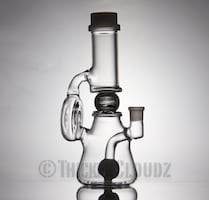 Bubbler, waterpipes with a 3d spinning ball