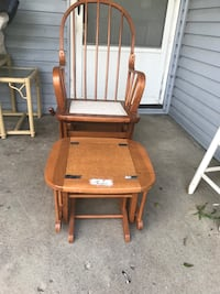 Rocking chair with gliding ottoman Columbus, 43211