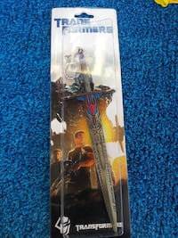 Transformers Knight sword toy with pack