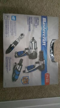 mastercraft air tool combo set