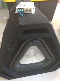 Boozaka Subwoofer Triagle with amplifier