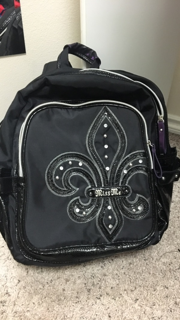 231dc1df0e4c Used black Miss Me backpack for sale in Anchorage - letgo