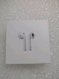 B. New (sealed) air pods.. Second generation. Much better than the fir