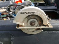 gray and black Skilsaw circular saw Channelview