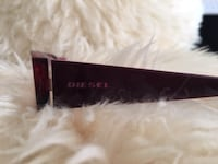 Diesel Glasses Frame Colour: Burgundy Condition: Like New Markham