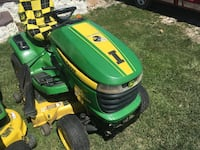320 john deere 22hp 46 quick change deck 8 years old 430 hours runs and looks like new for half the price  Afton, 50830