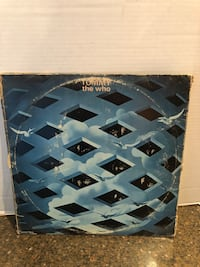 "The Who ""Tommy"" Record LP Vinyl  Manassas, 20112"