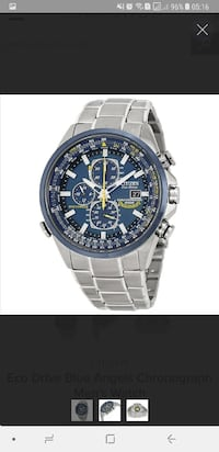 Citizen Eco Drive Blue Engels