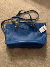 New, blue, cross body coach purse Portland, 97204
