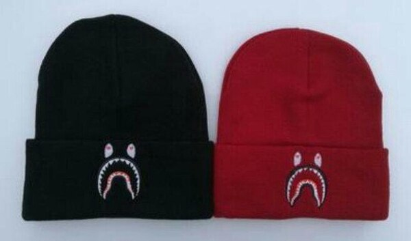 09e9cce4869 Used two red and black A Bathing Ape knit caps for sale in Mesquite ...