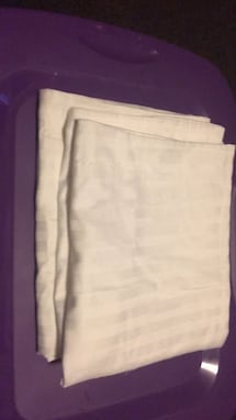 King size pillowcases with stripe in it