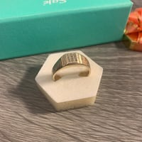 10K Solid Real Gold Ring with Diamond Mens Size 11 6.5g  Surrey, V3R 5X9