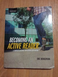 Becoming an Active Reader by Eric Henderson Port Alberni, V9Y 4Y5