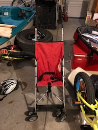 baby's red and black stroller Rio Rancho, 87124