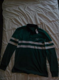 American Eagle Long sleeve Rugby Jersey. /W TAGS Vancouver, V5Z 3L7