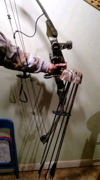 black and gray compound bow Gloversville, 12078