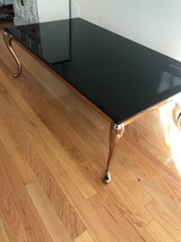 black glass-top table Oakville, L6M 0L5