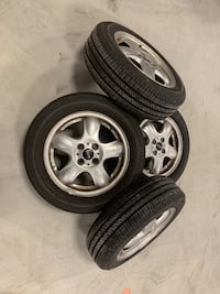 "MINI Cooper wheels 15"" good shape with great tires  Frederick, 21701"