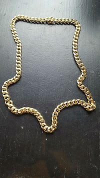 14k gold cuban link chain  New York