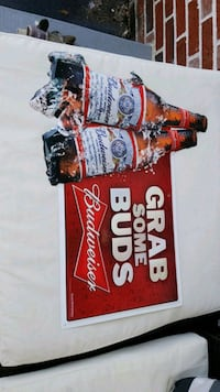 Budweiser King of Beers signage New Market, 21774