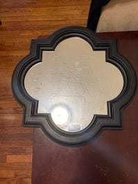 Decorative mirror - black