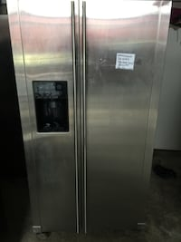 General electric stainless steel refrigerator 52 km