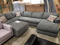 New ashley furniture u shape sectional tax included free delivery Hayward