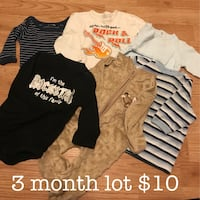 toddler's assorted clothes Kingston, K7M 4E2
