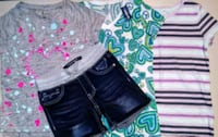 Nwt-nwot Girls size 7/8 lot