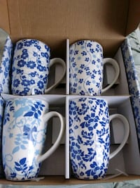 Maxwell William's set of 4 mugs Vaughan, L6A 4M6