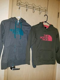 two North Face hoodies Mount Vernon, 98273
