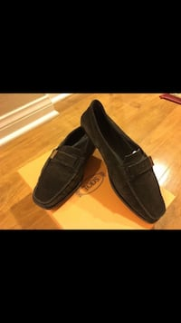 TOD'S Dark brown suede loafers  Irvine, 92602
