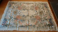 100% silk Table cover wall decorate in Chinese art