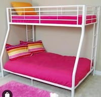 Beautiful White Full Over Twin Bunk Bed  Salem, 97317