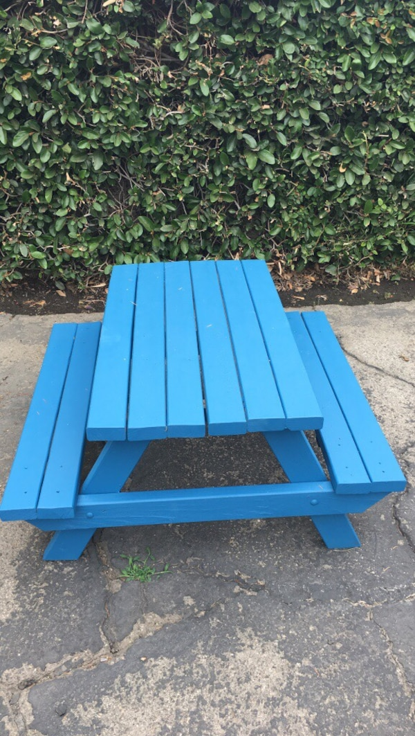 Custom Picnic Tables In Los Angeles Letgo - Picnic table los angeles