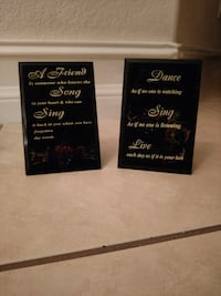 Small inspirational plaques Cape Coral