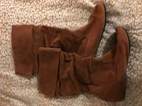 Brown Seude Boots