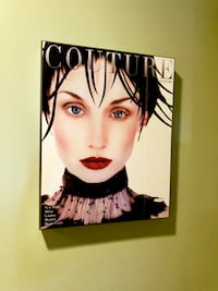Z Gallerie Couture Vintage Magazine Wall decor art - ready to hang Costa Mesa, 92626