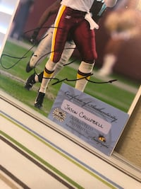 signed jason campbell photo Saint Augustine, 32095