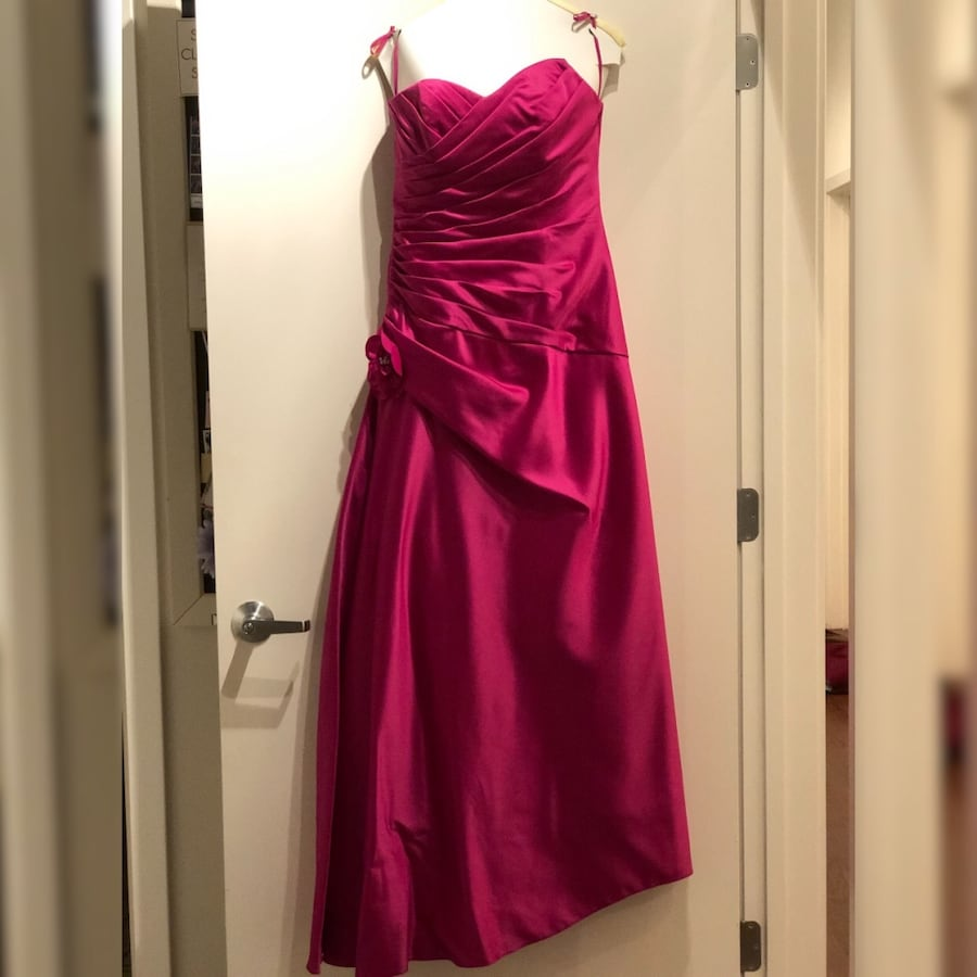Magenta Ball Gown