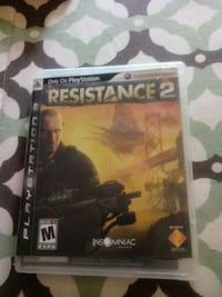 Resistance 2 for ps3 great condition