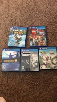 assorted ps4 game cases Langley, V3A 7C3