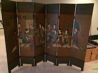 Room Divider 6-panel Upper Marlboro, 20772