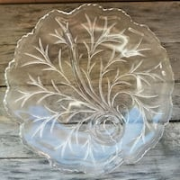 clear cut glass punch bowl Baltimore, 21214