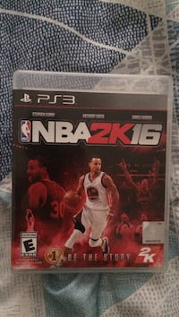 NBA 2K16 PS3 game case Lake Forest, 92610