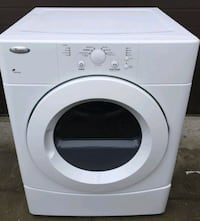 Whirlpool Electric dryer, 12 month warranty   Richmond Hill, L4C 3G2
