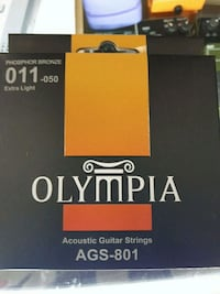 Olympia acoustic guitar strings  AGS-801