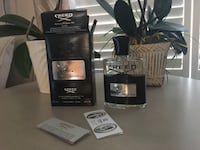 Creed fragrance bottle with box