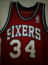 red and white Chicago Bulls 23 jersey Tempe