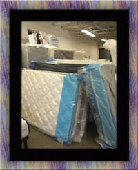 Twin $80 full $90 mattress with boxspring